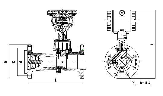 信号经前置放大器放大,滤波,整形转换为与流速成正比的脉冲信号,然后
