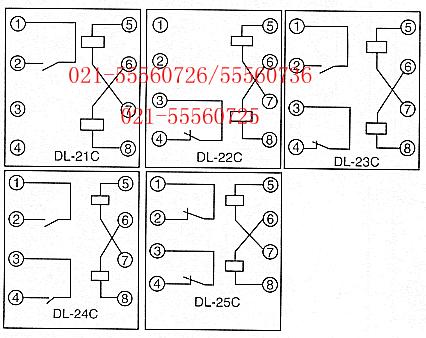 dl-25c电流继电器
