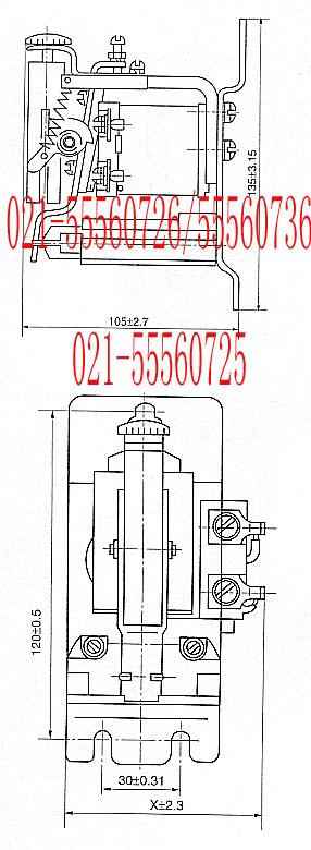 jl18过电流继电器jl18;-上海约瑟电器有限公司