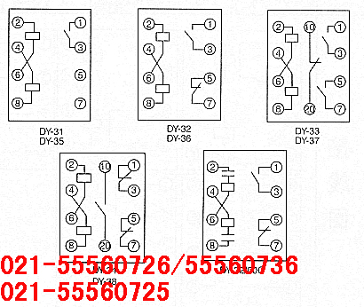 dy-32/60c; dy-32/60c电压继电器