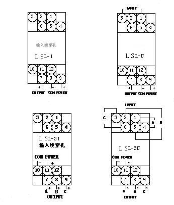 ywl-u-交流电压变送器