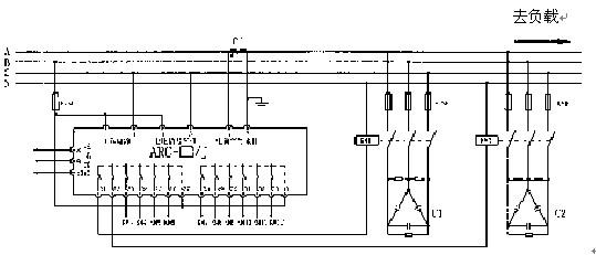 线电压采样,继电器输出