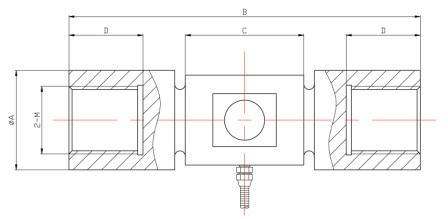柱式拉压力传感器
