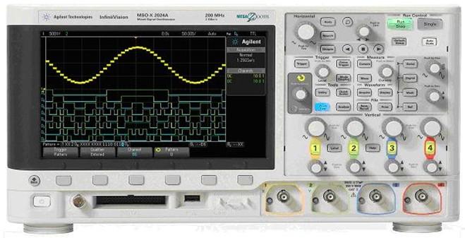 示波器界面_安捷伦设定全新示波器用户界面标准