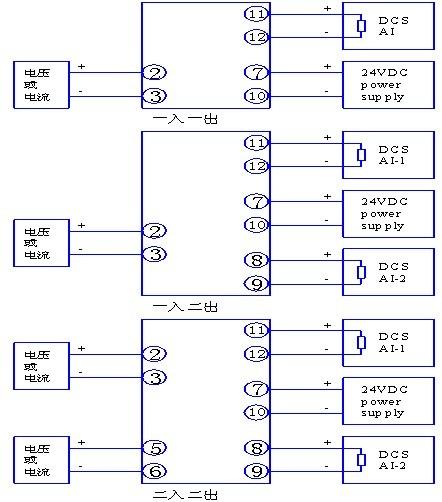 tm5041变送器电流信号配电隔离安全栅(一入一出) tm5043变送器电流