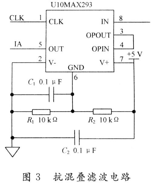 其中,电流采集部分使用hct210a电流互感器,将被测电压信号转换为对