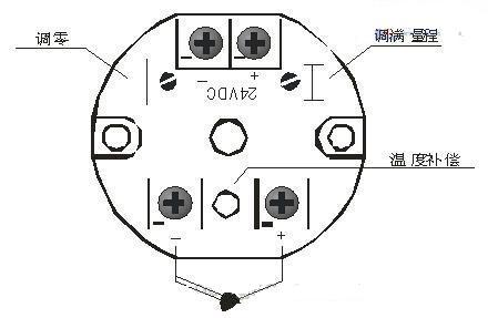 ct80一ex温度变送器安装接线图