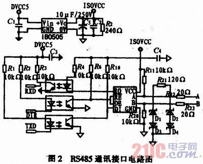 信号采集电路选用高精度24位串行a/d转换器cs5532