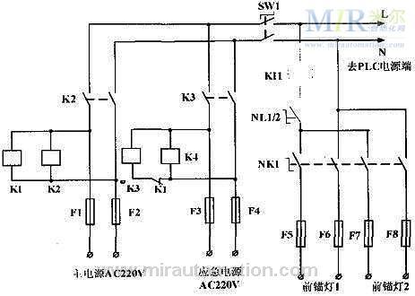 西门子s7-200plc在船舶航行灯系统中的应用