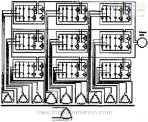 igbt中-中变频器结构图