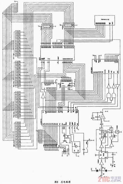 51单片机流量传感器电路图