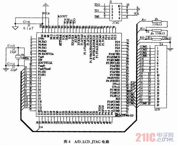 有没有msp4300f149最简单电路图