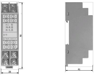 d11-配电隔离器 _供应信息_商机_中国仪表网