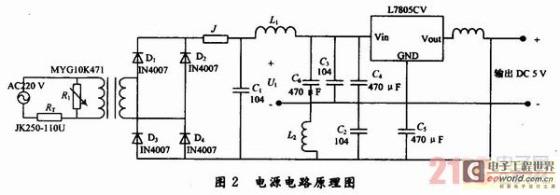 本系统选用3个pc817光电耦合器