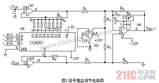 n3为电压跟随器