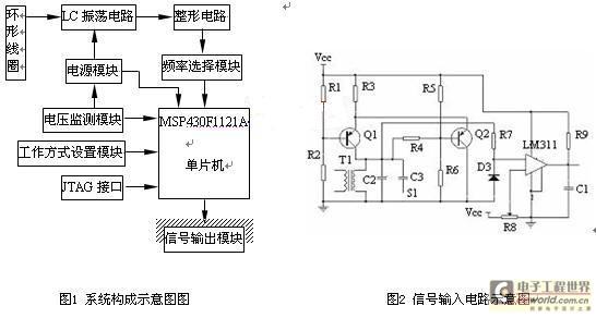 基于msp430行驶车辆检测器的设计