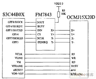 图2系统硬件电路原理图
