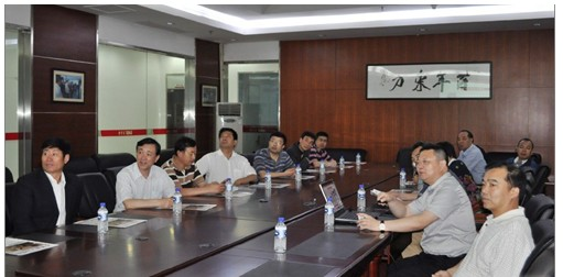 黑龙江省省商务厅_黑龙江省商务厅副厅长一行莅临易事特调研