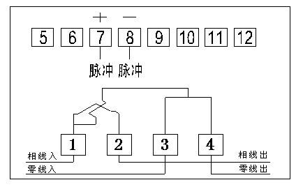 预付费电能表三相电子式,一表一卡电子表