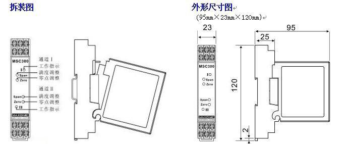 s/℃ 绝缘强度:输入/输出/电源,≥1500vac(1min) 绝缘电阻:输入